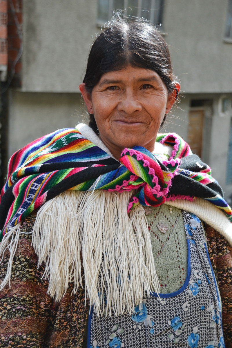Bolivia - Aymara woman-- 1200px