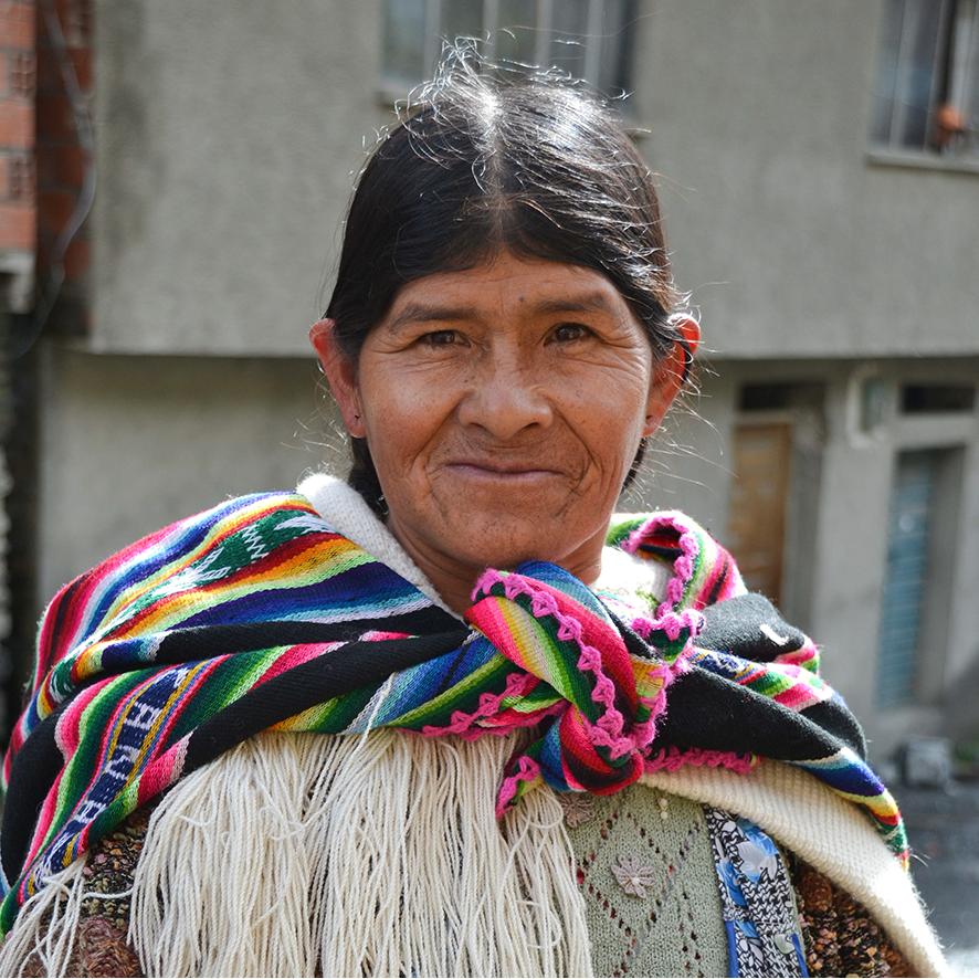 Bolivia Aymara woman