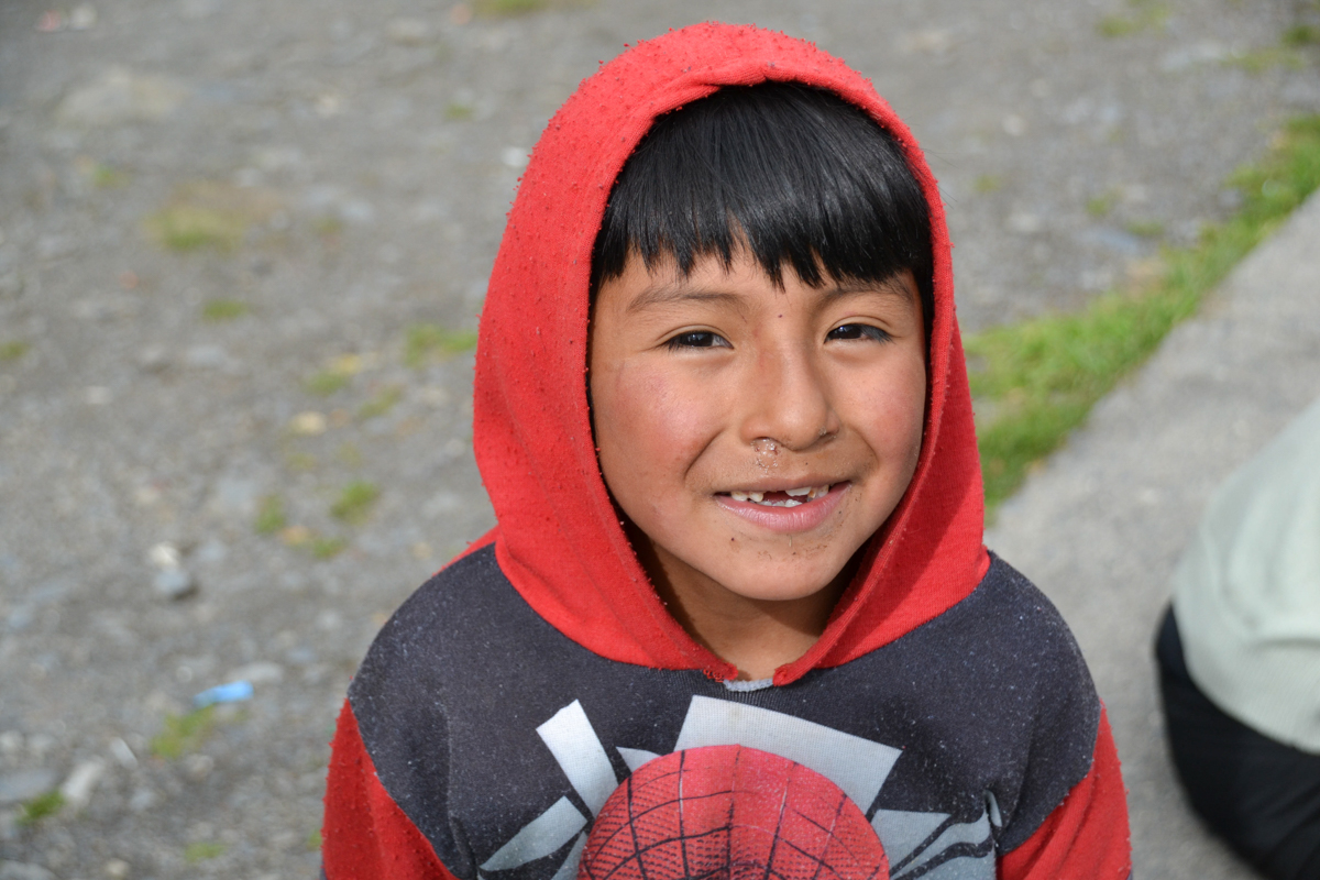 Bolivia - Boy with red hood-- 1200px