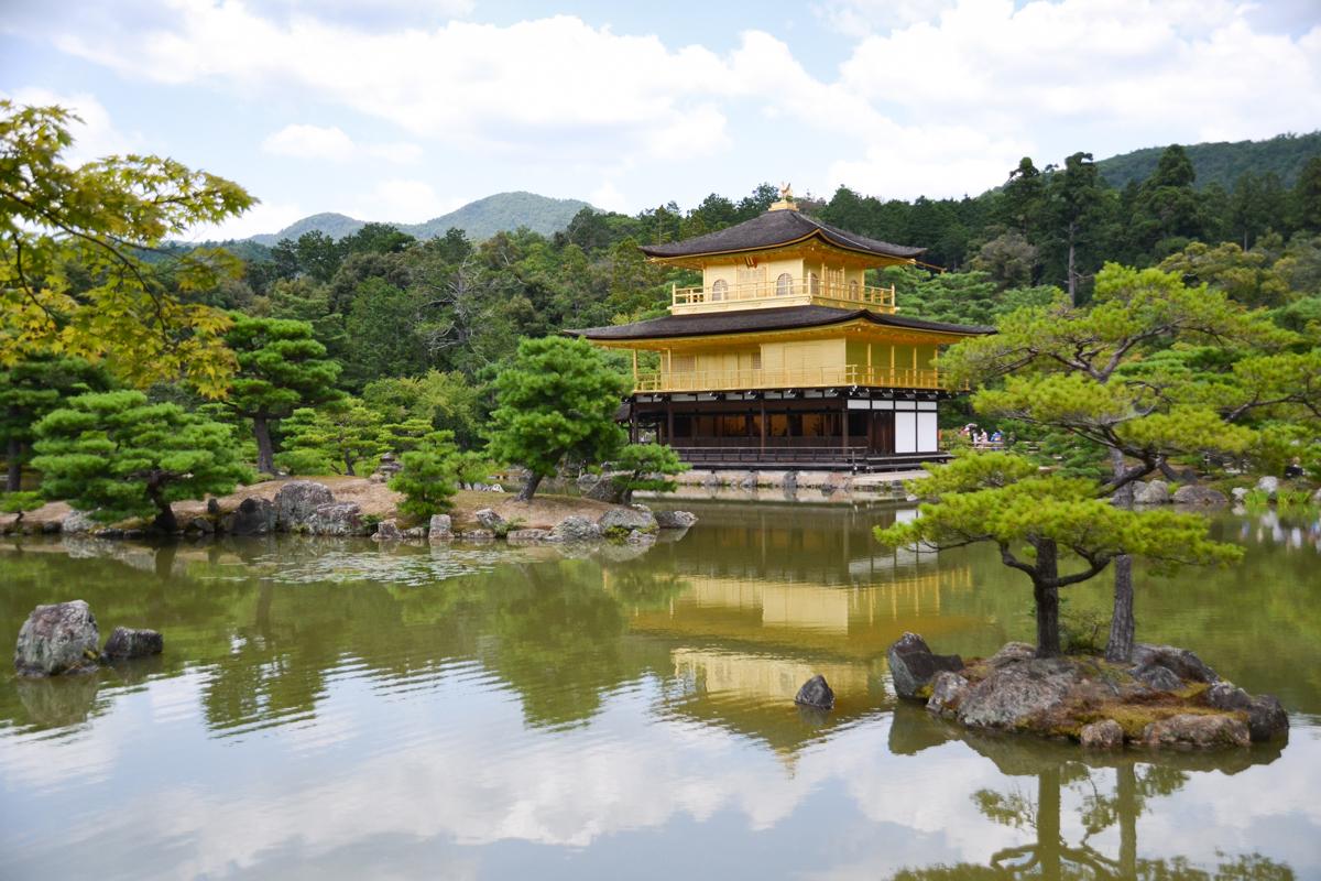 Japan - Golden temple Kyoto