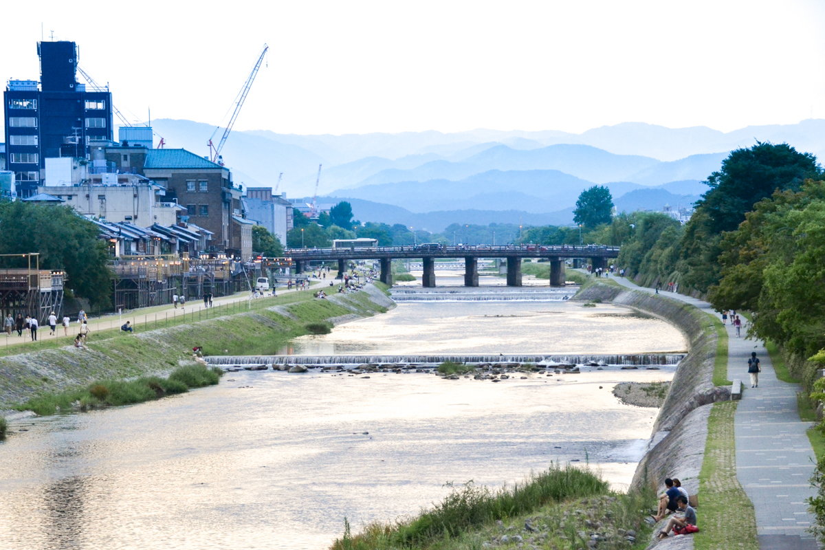 Japan - Kyoto river