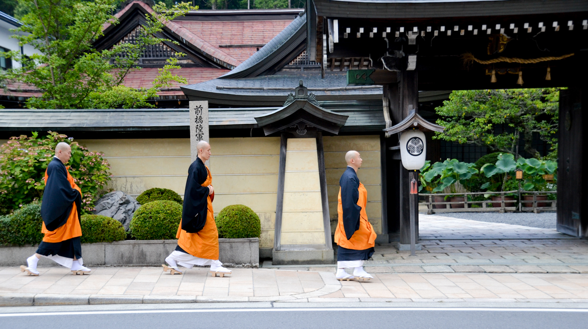 Japan - Monks Koyasan