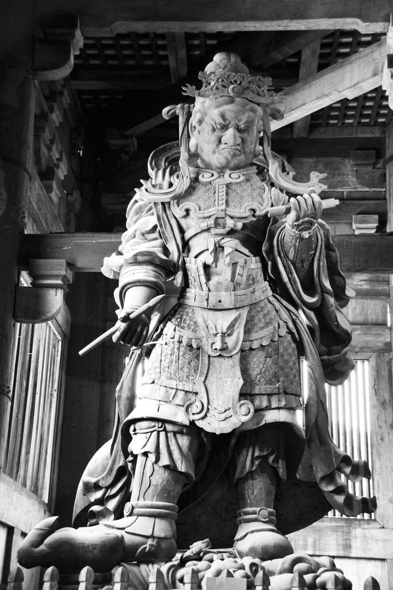 Japan - Temple protector deity 1