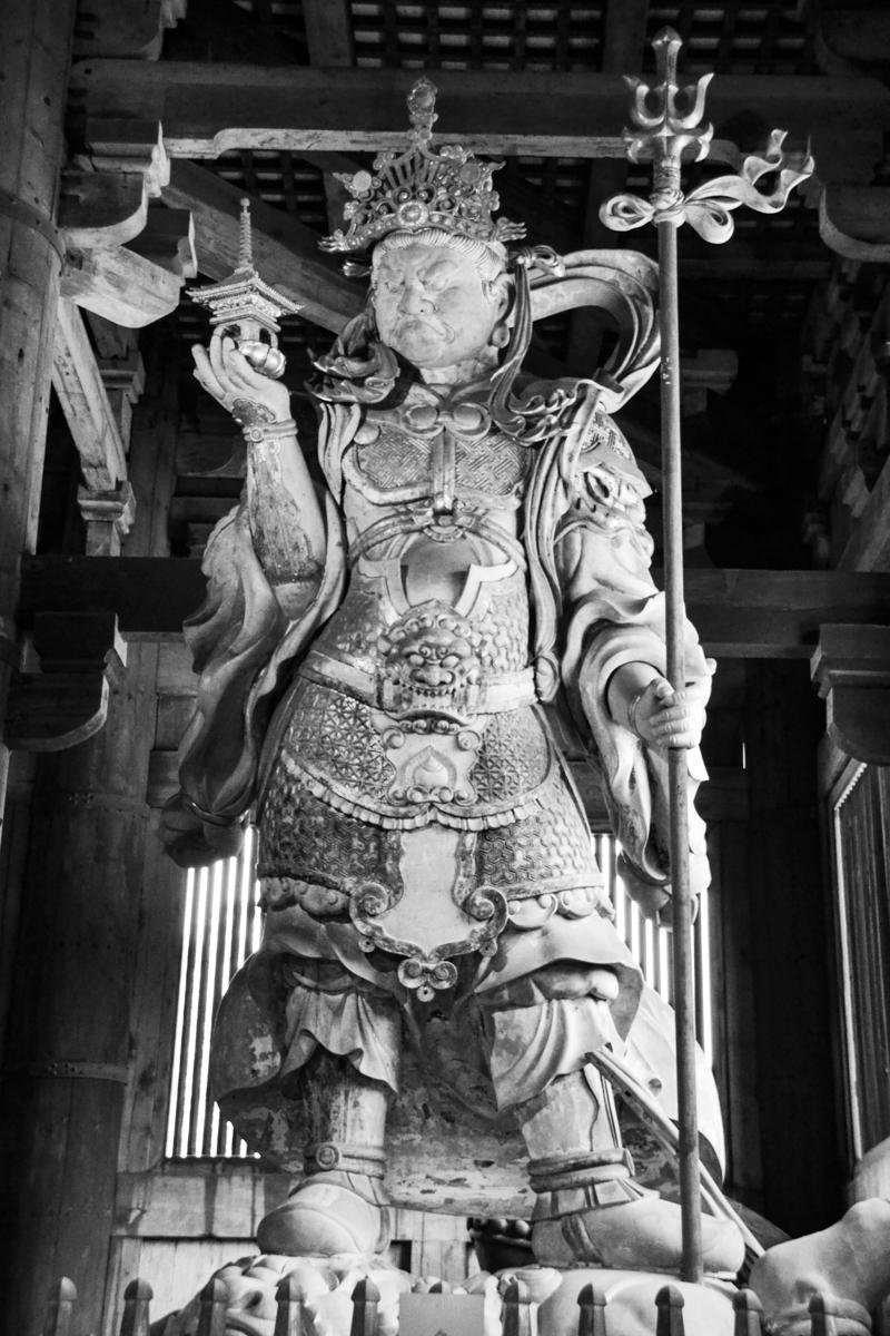 Japan - Temple protector deity 2