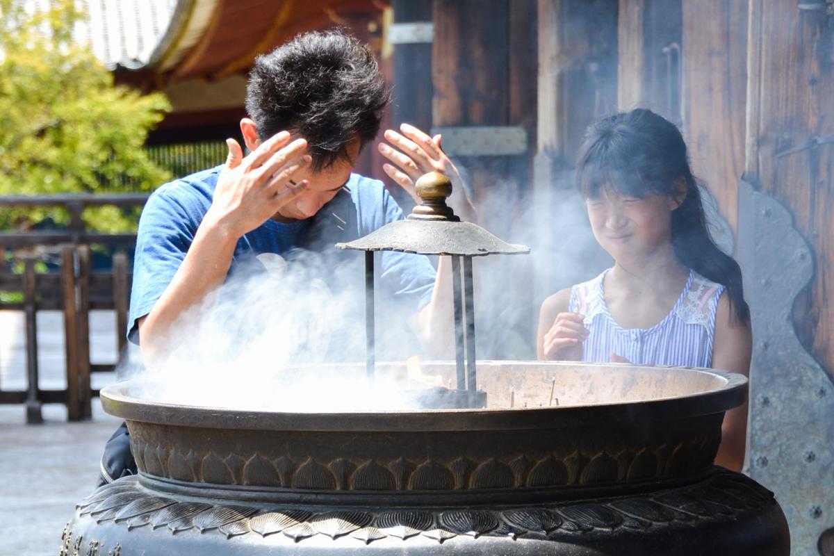 Japan Temple rituals incense bathing- 1200px