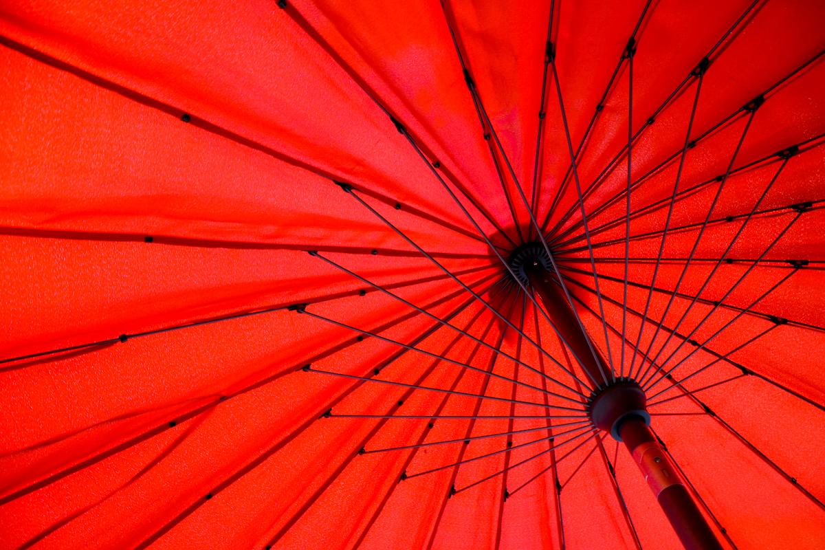 Japan - red umbrella