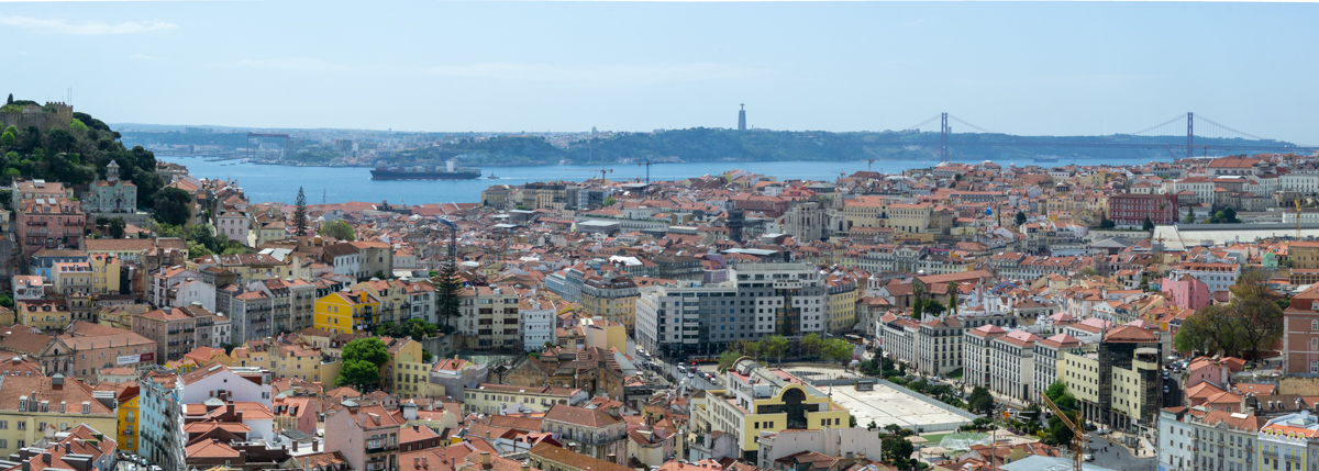 Portugal panorama Lissabon- 1200px